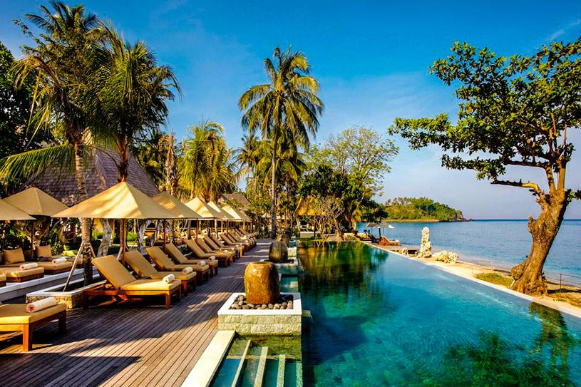 Bilder bali und lombok reise classic for Exotische hotels
