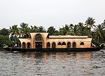 Indien Reise, Backwaters